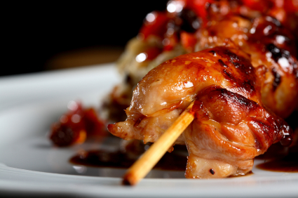 chicken skewer pic