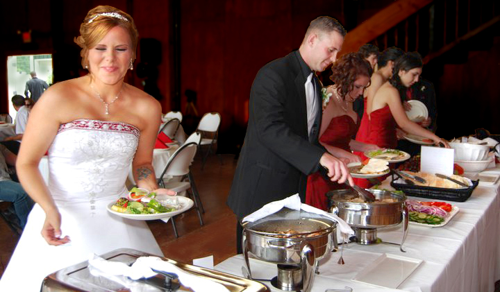Happy Bride- Stacy and Matt's Wedding