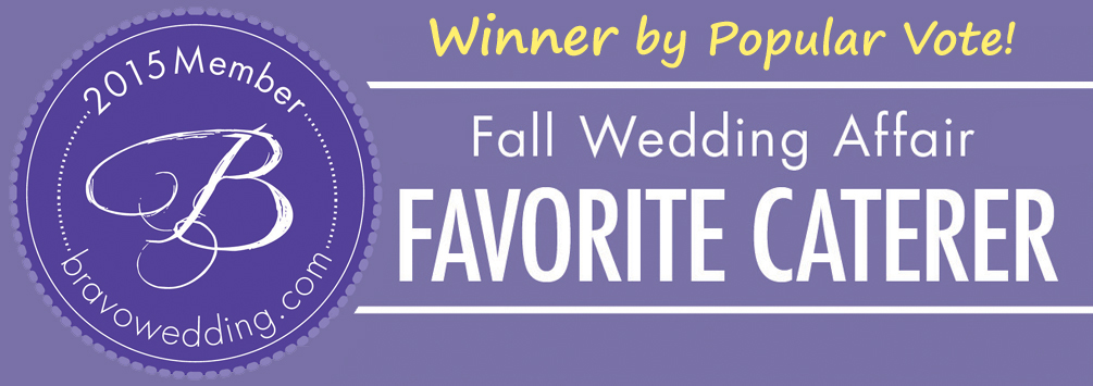 Favorite Caterer Award, Bravo! Fall Wedding Show